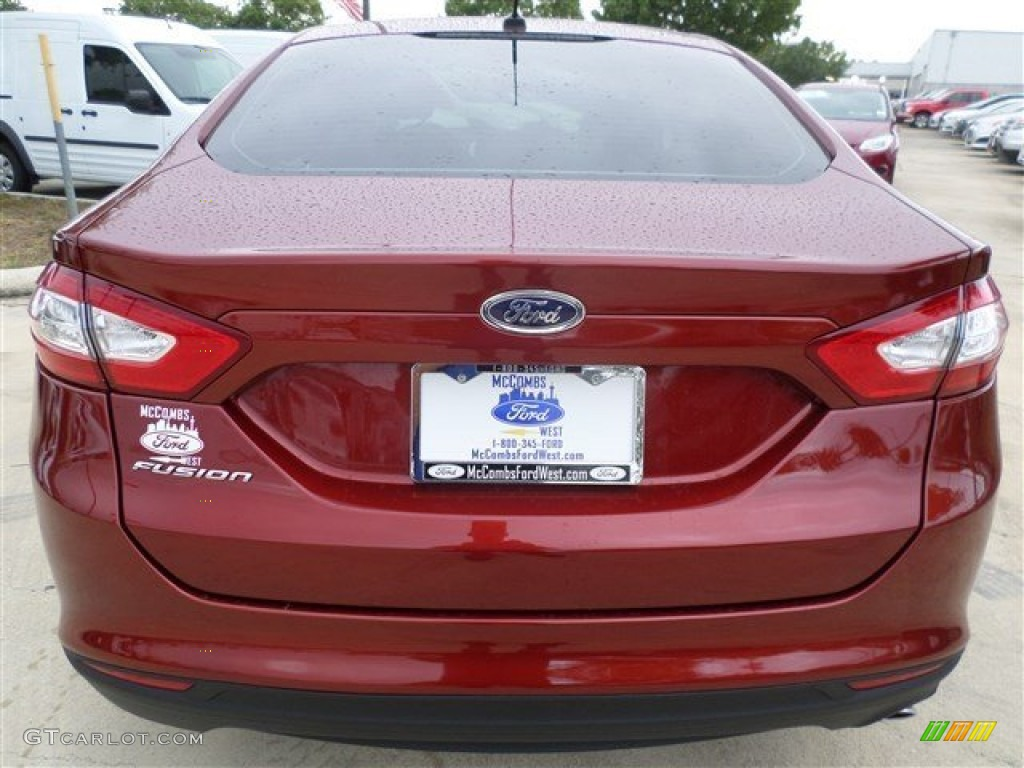 2014 Ford Fusion Sunset Color