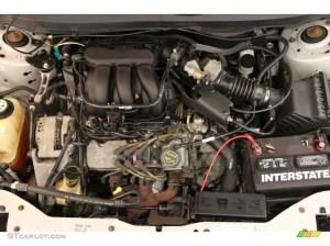 2005 Ford Taurus SE Wagon 30 Liter OHV 12Valve V6 Engine