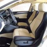 2 Tone Cornsilk Beige Black Interior 2014 Volkswagen Jetta Sel Sedan Photo 86713095 Gtcarlot Com