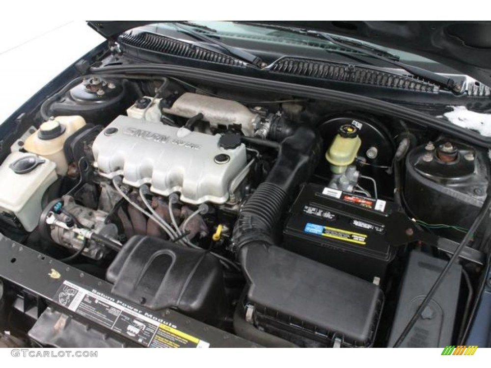 medium resolution of 1998 saturn s series sl1 sedan engine photos