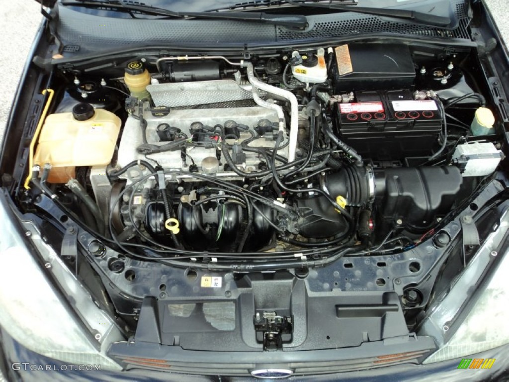 2003 Ford Focus Zx5 Engine With Zetec On Diagram Of
