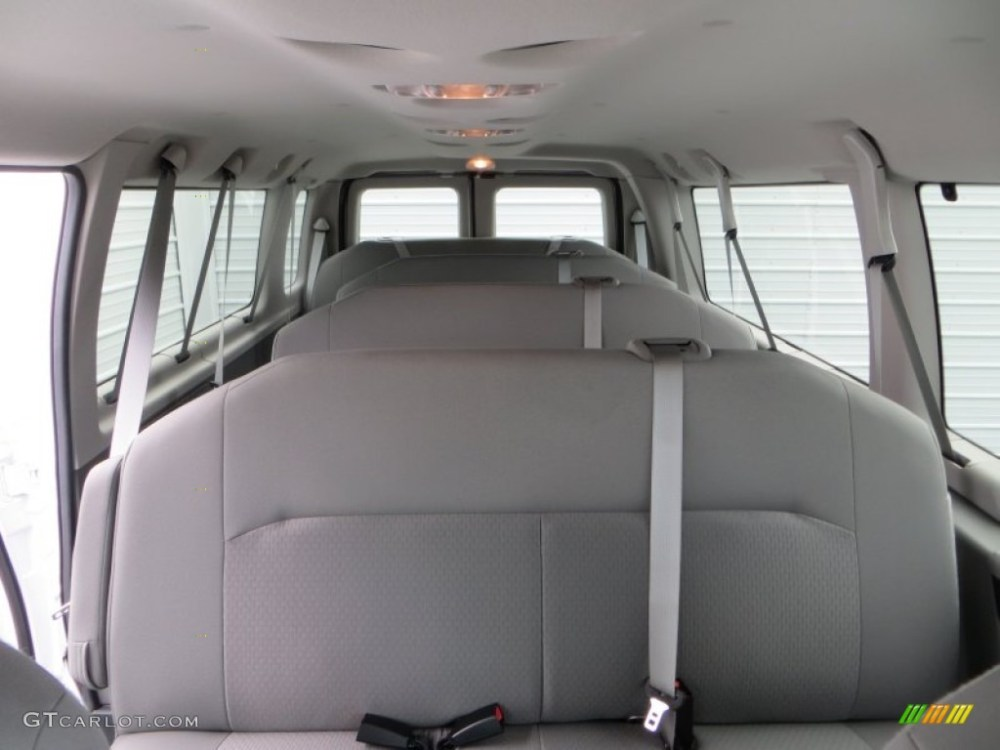 medium resolution of medium flint interior 2014 ford e series van e350 xlt extended 15 passenger van photo
