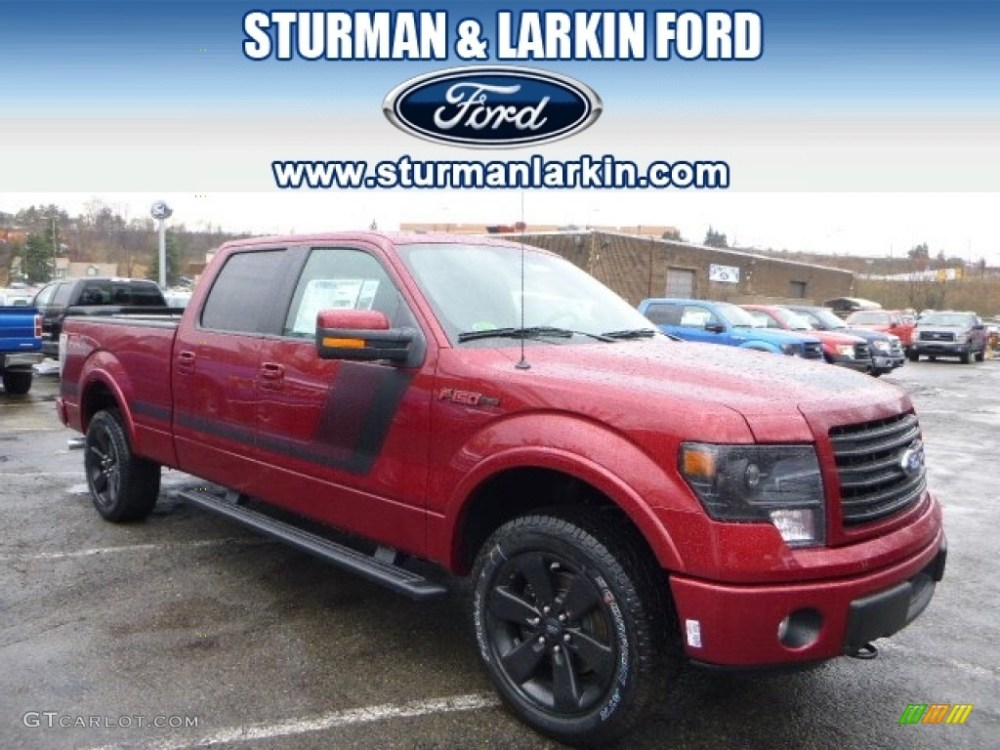 medium resolution of ruby red ford f150