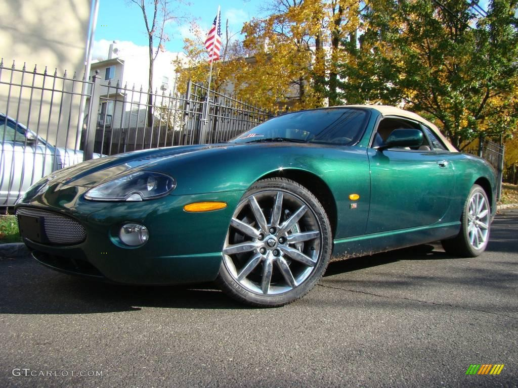 Jaguar Racing Green