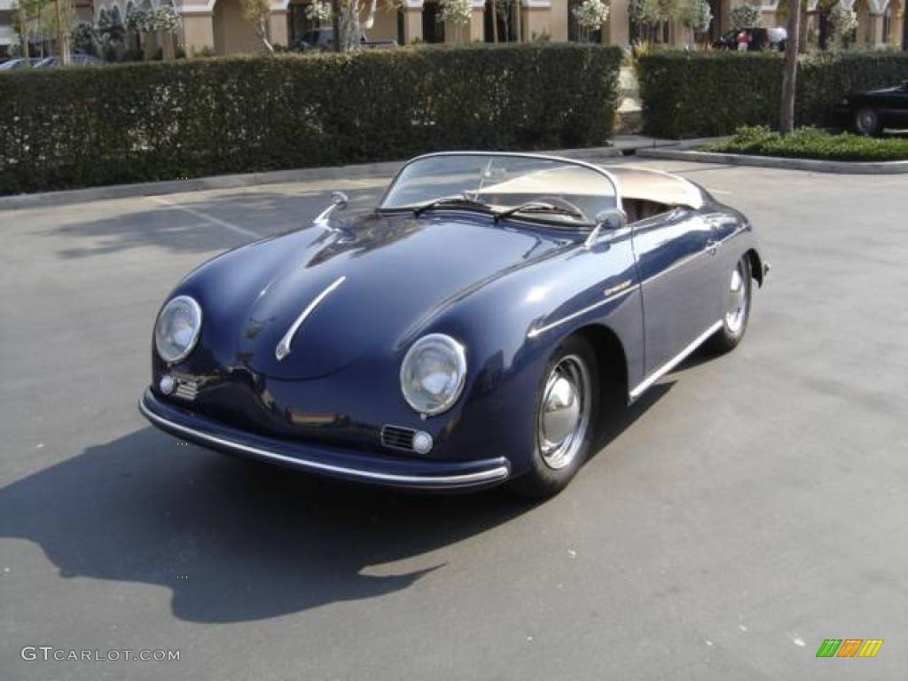 hight resolution of blue porsche 356 porsche 356 speedster recreation