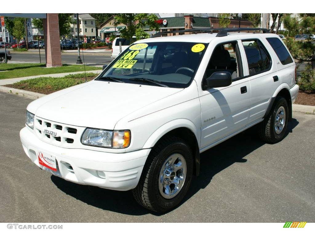 hight resolution of 2002 rodeo ls 4wd alpine white gray photo 1