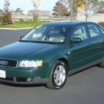 2002 Goodwood Green Pearl Effect Audi A4 1 8t Quattro Sedan 963419 Photo 3 Gtcarlot Com Car Color Galleries