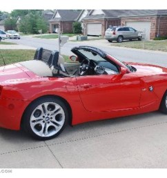 2004 bright red bmw z4 3 0i roadster 9881721 [ 1024 x 768 Pixel ]