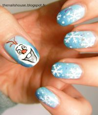 Absolutely Awesome Disney Nail Art - Frozen | Guff