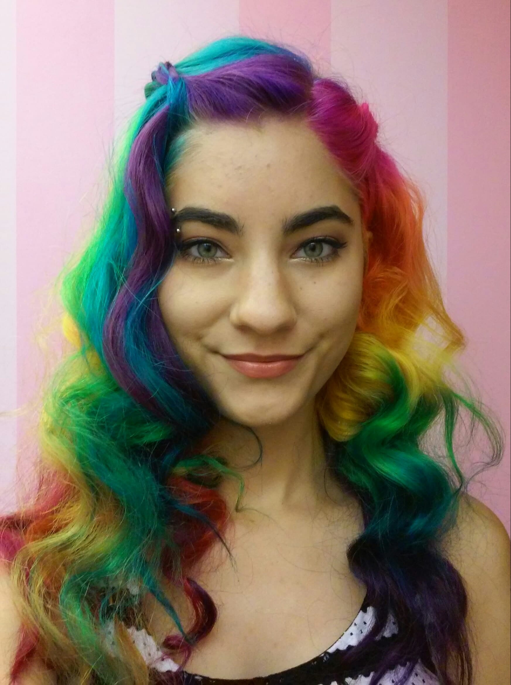 OK You Need To Drop Everything And Dye Your Hair Rainbow