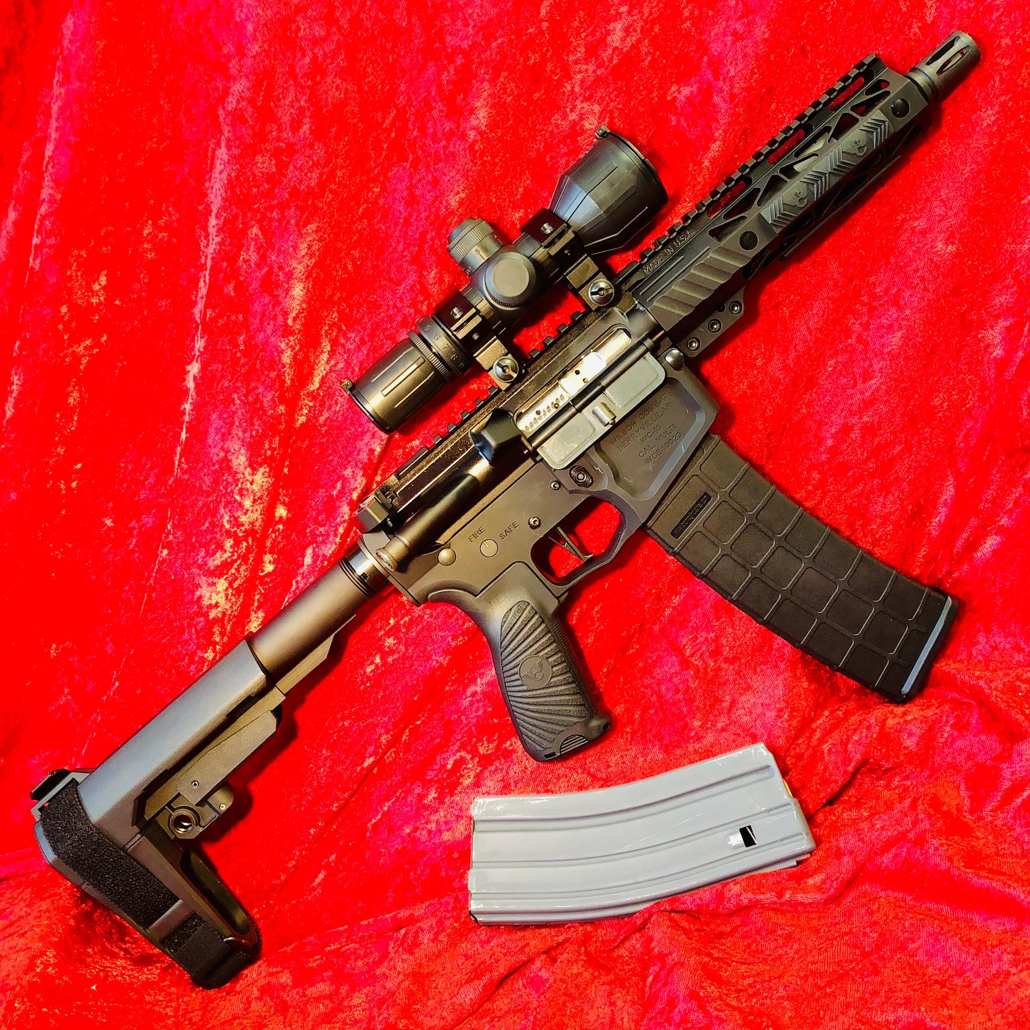 Wilson Combat Wc-15 Ar-15 Mil-spec Custom Pdw Pistol 300 Blackout - For Sale :: Guns.com