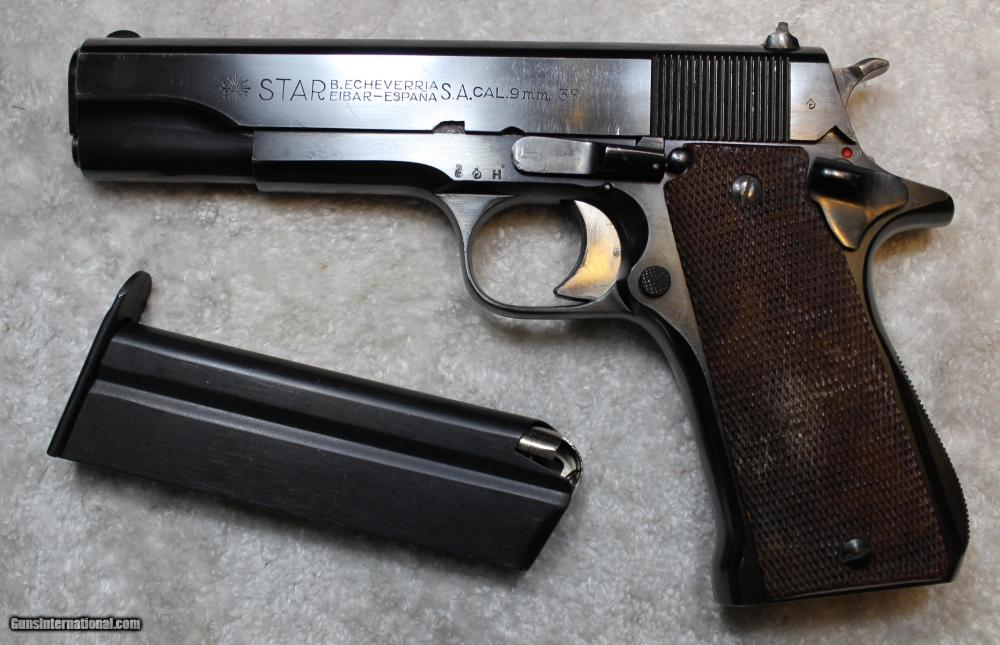 medium resolution of star b echeverria s a model m 9mm largo and 38 acp not 38 super semi
