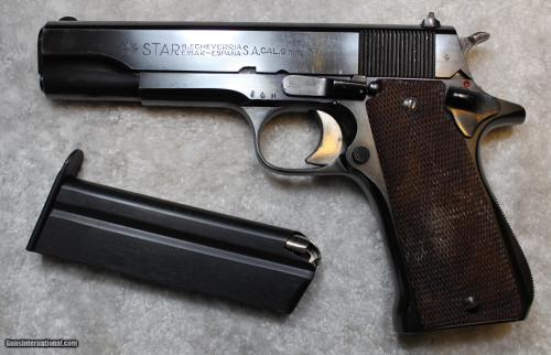 small resolution of star b echeverria s a model m 9mm largo and 38 acp not 38 super semi