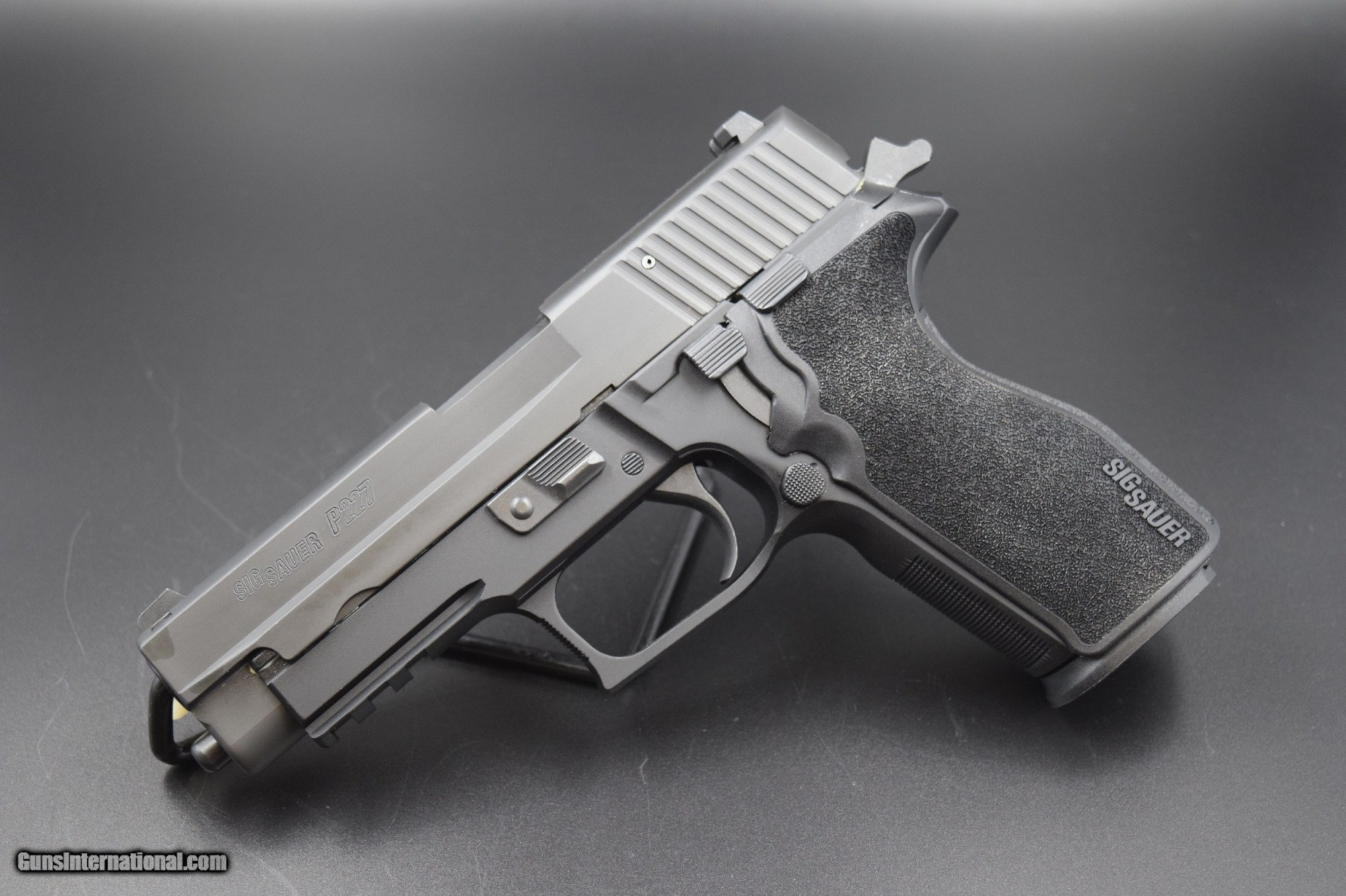 hight resolution of sig sauer p 227 pistol in 45 acp with night sights 1 of