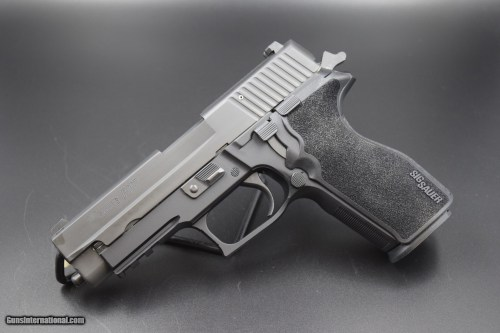 small resolution of sig sauer p 227 pistol in 45 acp with night sights 1 of