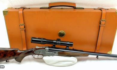 Wooden Double Scoped Rifle Case | Wooden Thing