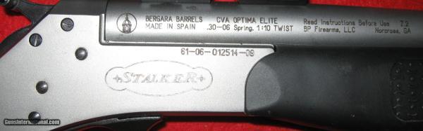 Cva Elite Stalker Rifle Single Shot - Year of Clean Water