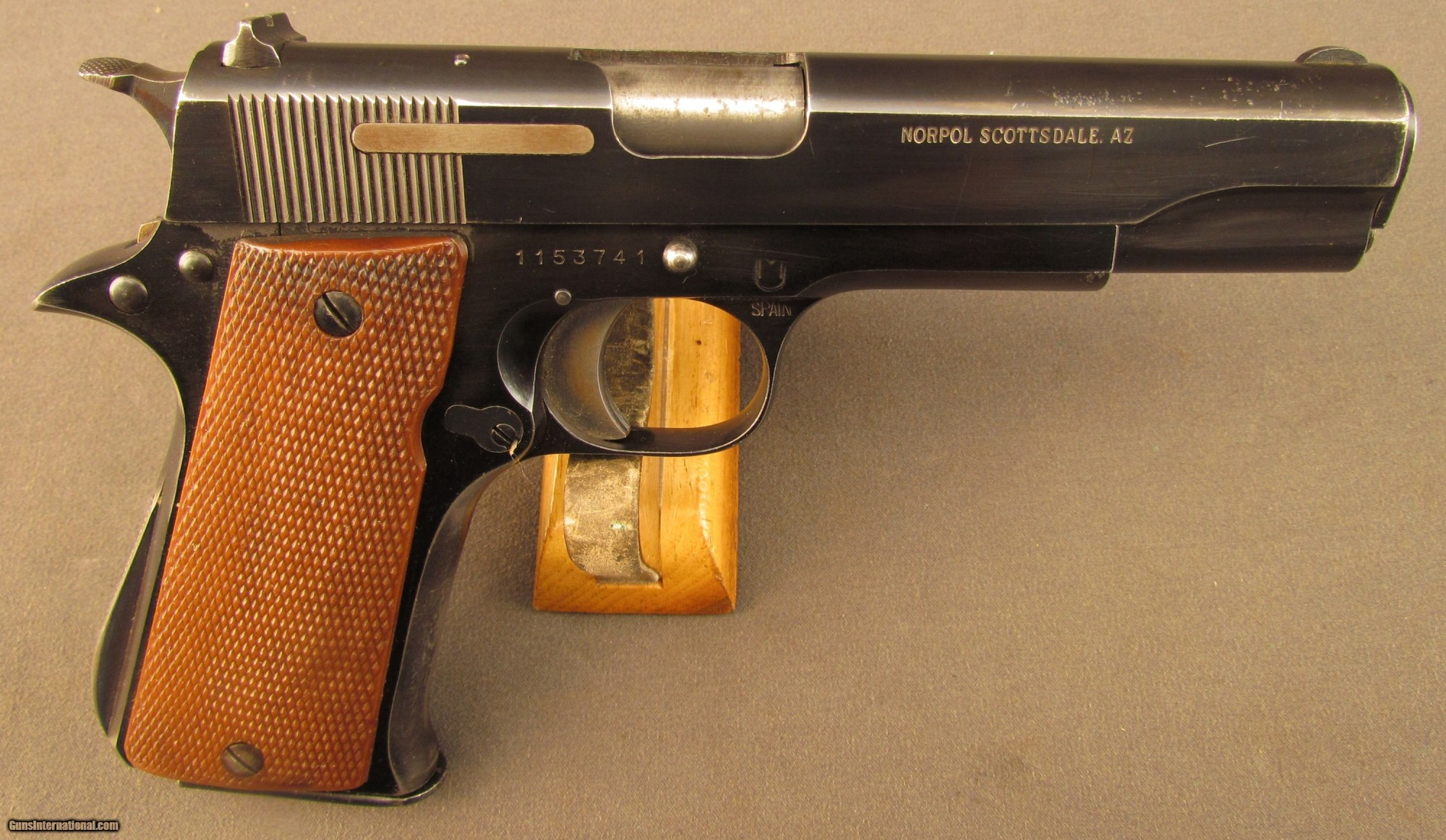 hight resolution of star model super b pistol south african military issued 1 of 12