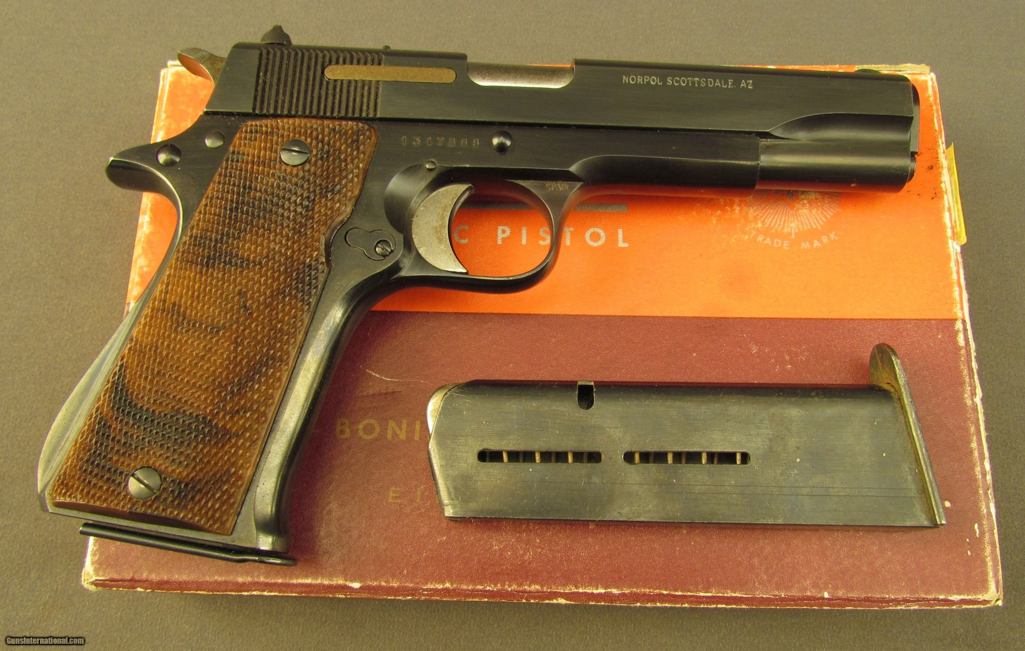 hight resolution of star model bs 9mm pistol with box 1 of 14