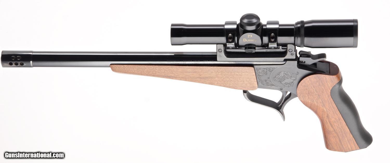 hight resolution of  thompson center contender 375 win single shot pistol 4 of 25