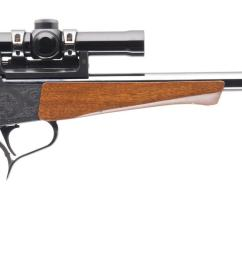 thompson center contender 375 win single shot pistol 1 of 25  [ 1477 x 768 Pixel ]