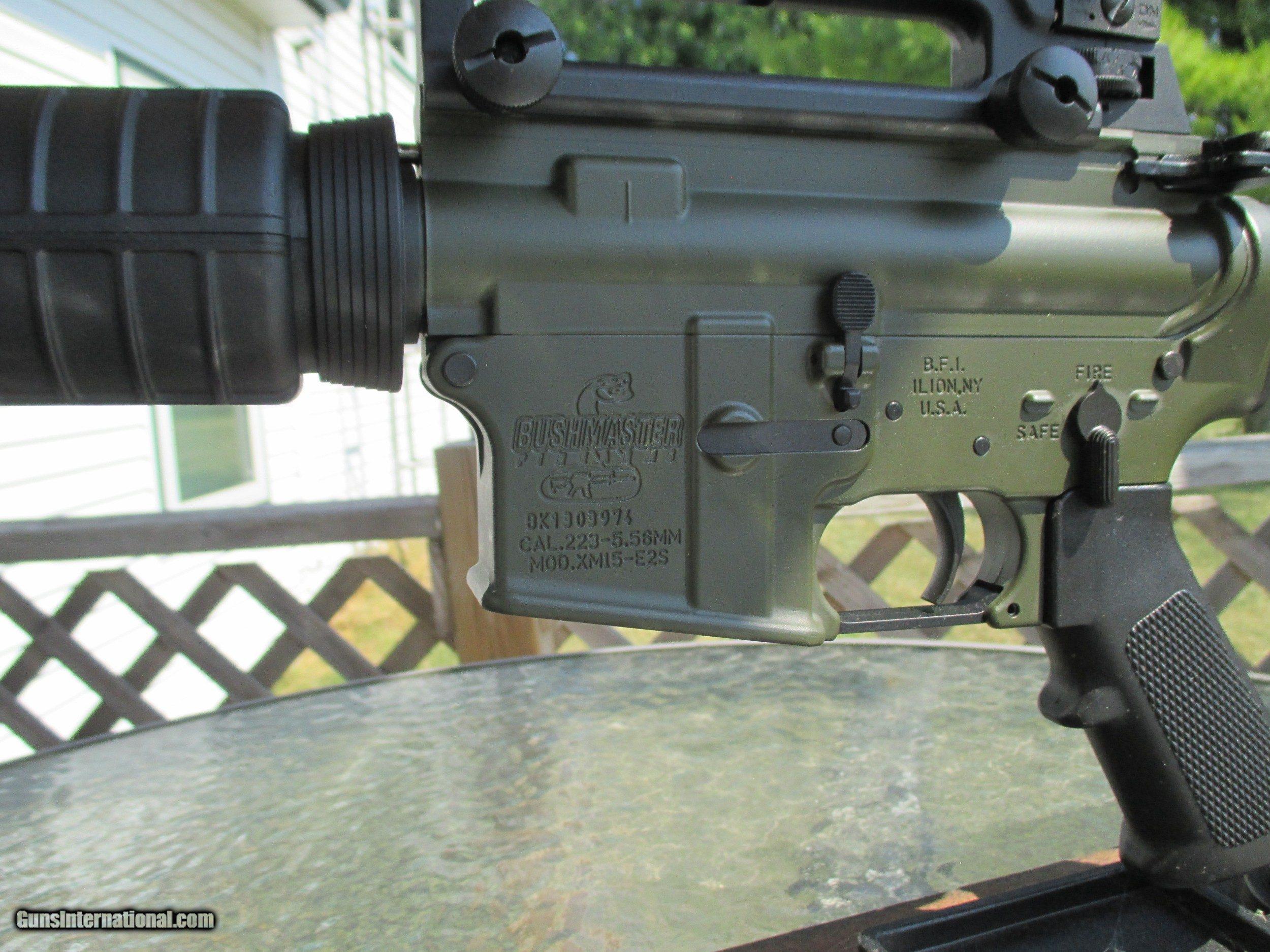 Bushmaster XM - Pre Patrolman AR-15 Carbine OD Green Cerakote 556/223 for sale