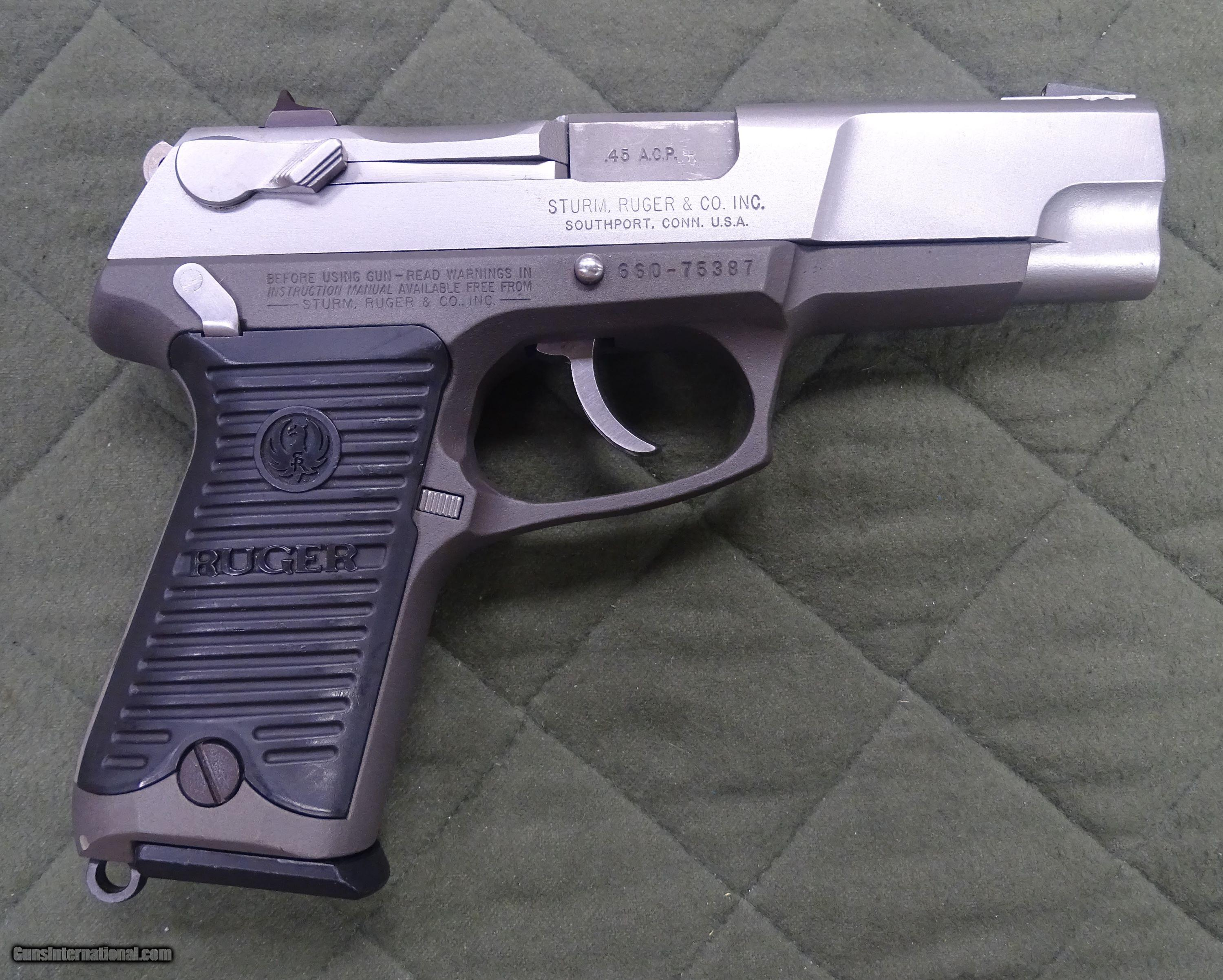 Ruger P90 45 Acp