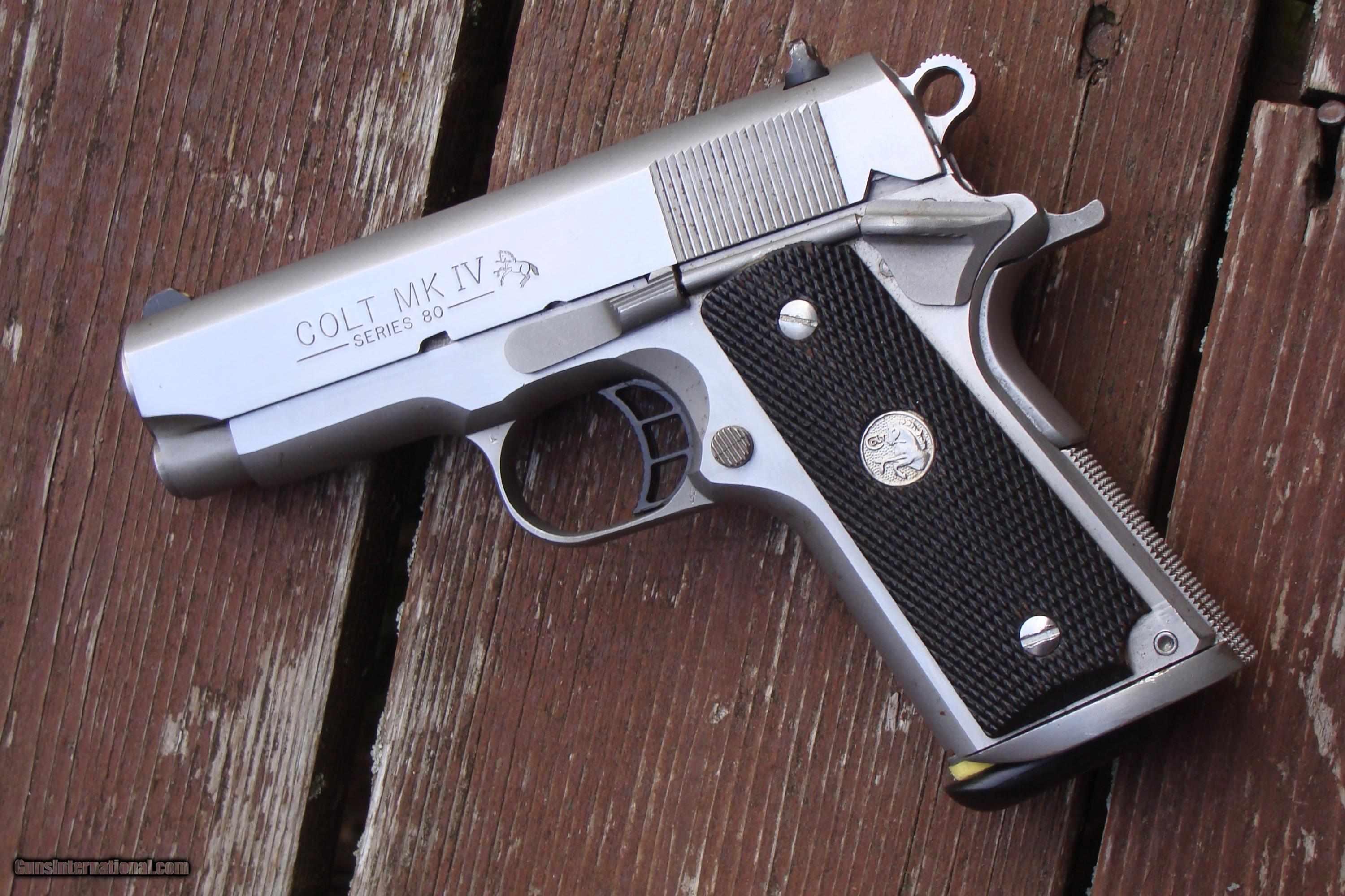 colt 1911 officers stainless