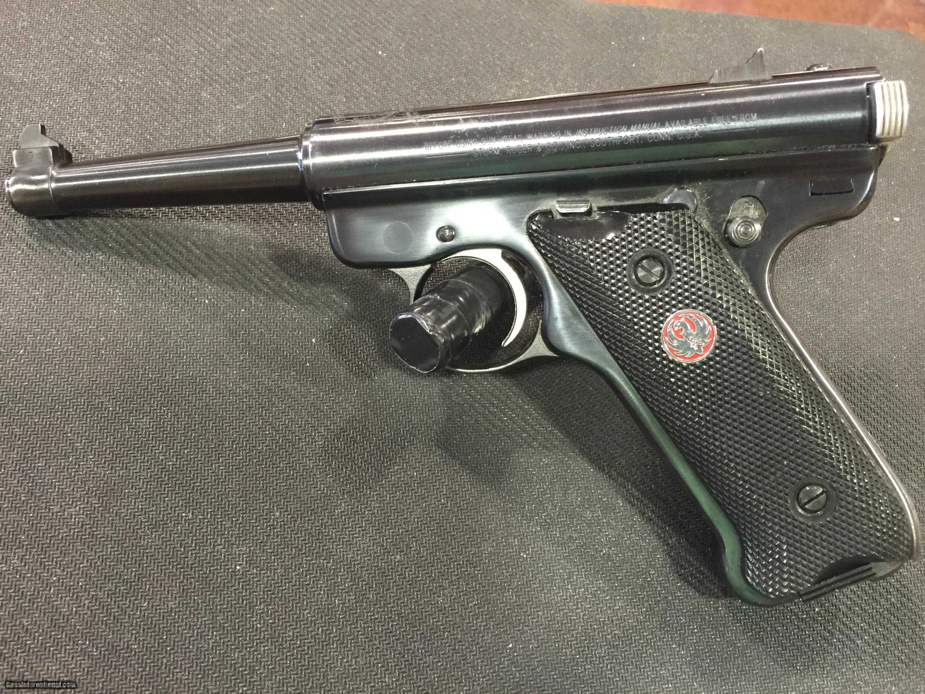 Ruger Mkii 22 Caliber 50th Anniversary