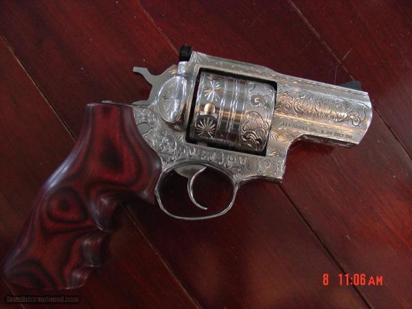 "Ruger Alaskan 2 1 2"" 454 Casull Fully Engraved Flannery"
