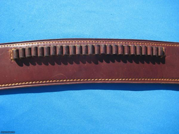 George Lawrence Cartridge Belt & Holster Drop Rig Colt Sa