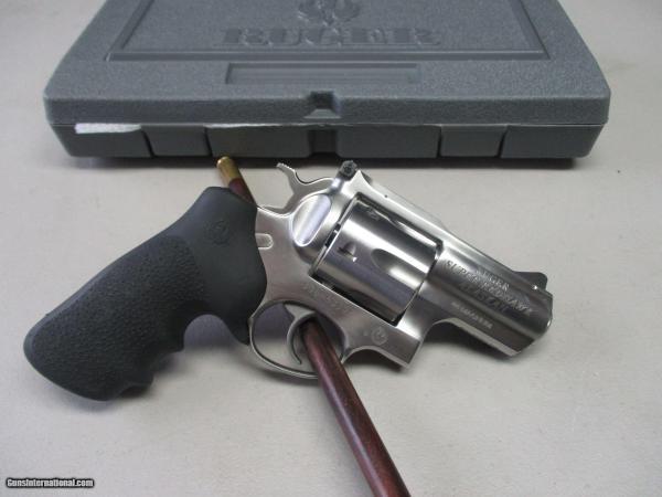 Ruger Super Redhawk Alaskan 44 Magnum Bear Gun Withholster Box