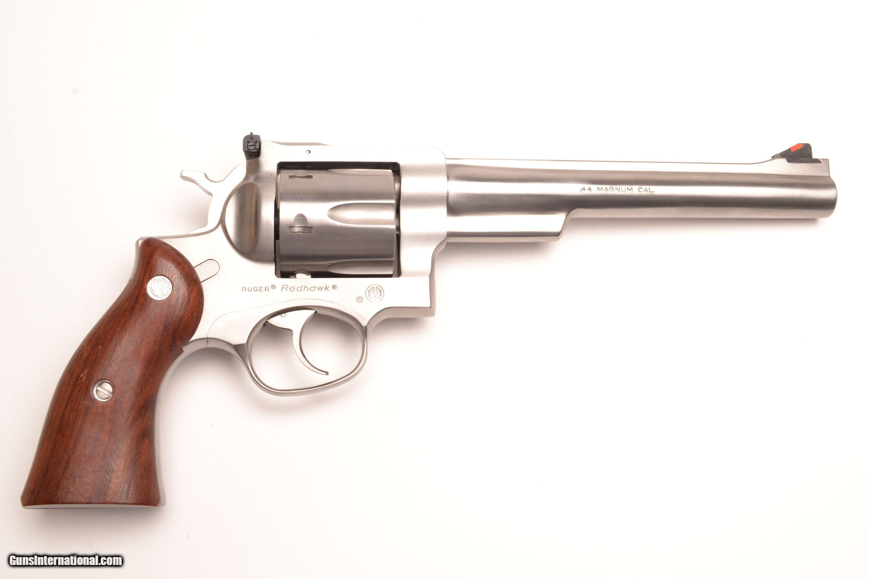 Sturm Ruger Redhawk Stainless Steel 44 Magnum 7 1 2 Barrel