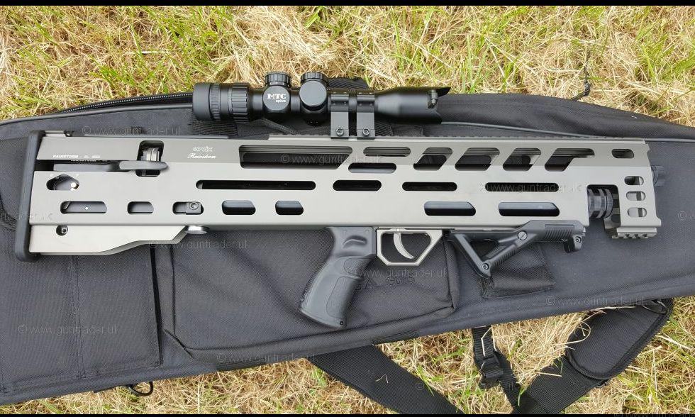 Evanix .177 Rainstorm Bullpup 3D Pre-charged Pneumatic Second Hand Air Rifle for sale. Buy for £750.