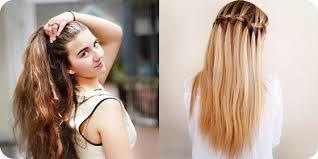 Einfache Schnelle Frisuren Für Schule Etc Frisur Ideen
