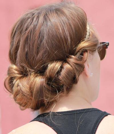 Konfirmationsfrisuren Für Mittellange Haare? Frisur Christentum