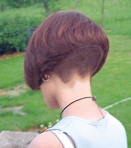 Gibt es eine OnlineFrisuren Beratung fr einen BobHaarschnitt kurze haare haareab