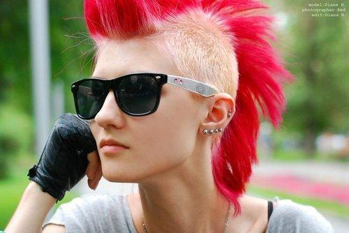 Hey Ich Suche Rockige Punkige Frisuren Für Mädchen Frauen Haare