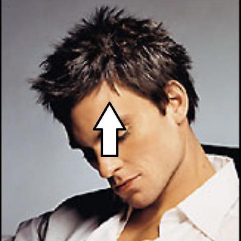 Geheimratsecken Frisur Trendige Kurzhaarfrisuren