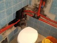 Badezimmer nicht zu benutzen nach Rohrbruch...wei jemand ...