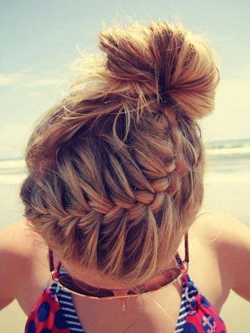 Frisuren Für Mädels Und Am Besten Geflochten Haare Frisur