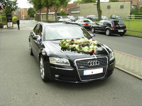 Audi A8 Hochzeitsauto  Hochzeit