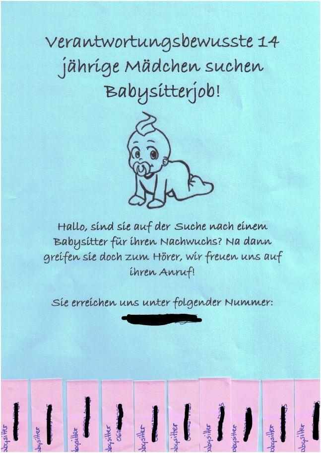 flyer for babysitting