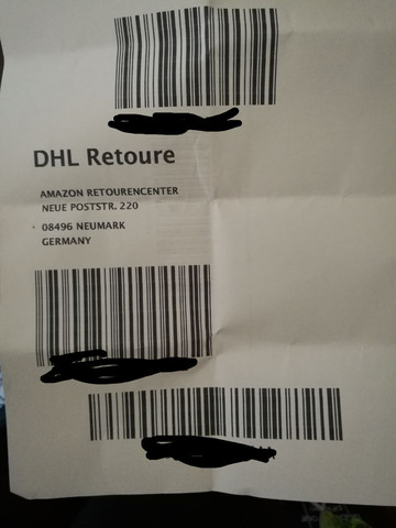 Dhl Retoure Nochmal Drucken : retoure, nochmal, drucken, Retoure, Groß, Ausgedruckt, Trotzdem?, (Internet,, Sport,, Amazon)