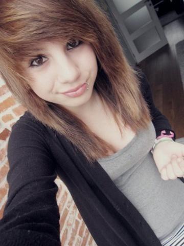 Diese Frisur fr 14 jhrige Haare