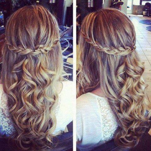 Frisur Für Abschlussfeier? Schule Mädchen Haare