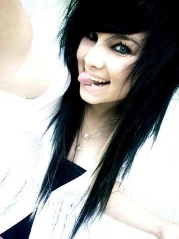 Gibt Es Einen Namen Für Diese Emo Frisur?