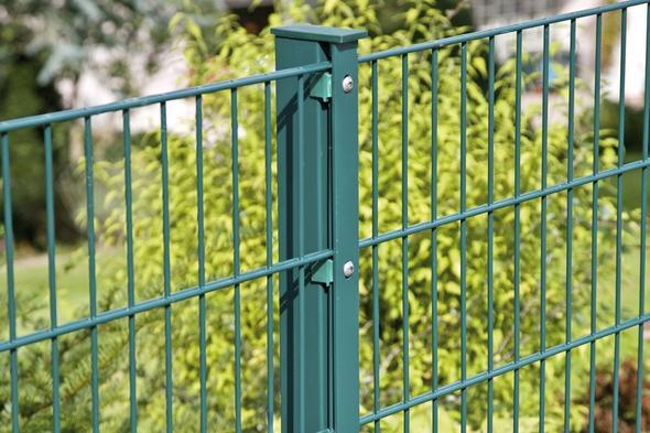 Grner Metall Zaun Garten Gartenzaun Vorgarten kosten Mit
