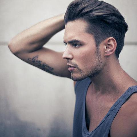 Mannerfrisuren oben lang unten kurz – Mittellange haare