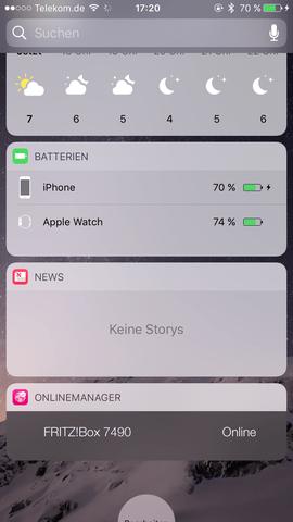 IPhone Widget News zeigt Keine Stories  Apple
